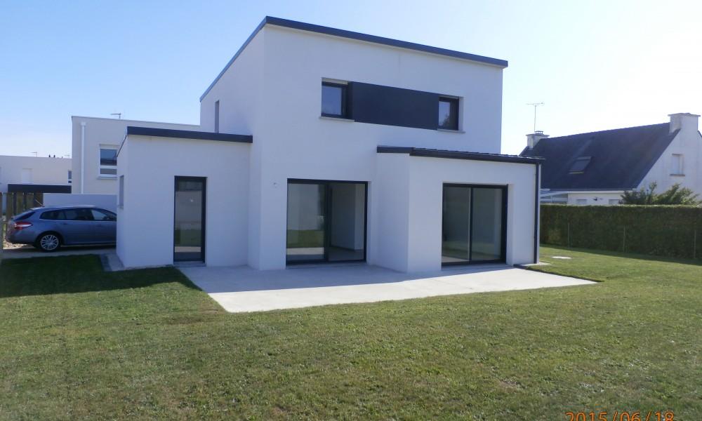 Construction maison contemporaine Vannes - Savenay - Guerande