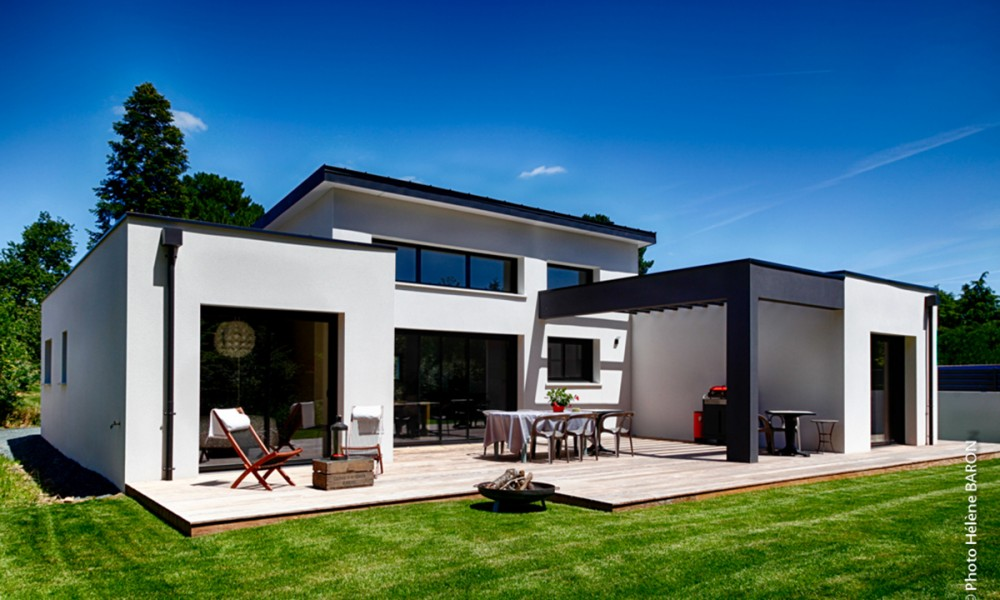 Maison contemporaine plain pied | Bati-Confort